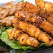 Tempura Chicken — Stock Photo