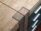 Oak bedside table — Stock Photo