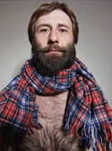 Portrait of the bearded man — Stock Photo