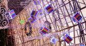 Christmas cubes — Stock Photo
