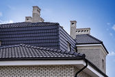 Roof sky — Stock Photo