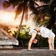 Yoga in India — Stock Photo