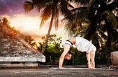 Yoga in India — Stock Photo
