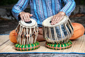 Tabla drums — Stock Photo