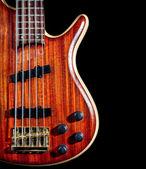 Guitarra baixo — Fotografia Stock