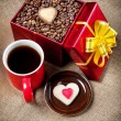 Holiday coffee — Stockfoto