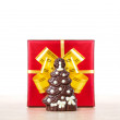 Royalty-Free Stock Photo: Christmas chocolate tree
