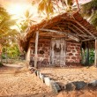 Tropical village — Stock Photo
