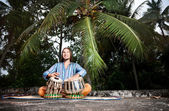 Tabla player — Stock Photo