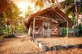 Tropisch dorp — Stockfoto