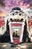 Templo de rostro indio de dios — Foto de Stock