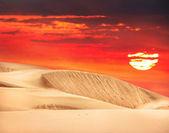 Desert in Kazakhstan — Stock Photo
