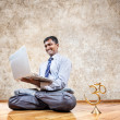 Royalty-Free Stock Photo: Business yoga