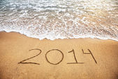 2014 New year — Stock Photo