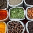 Indian colored spices — Stock Photo #24743227