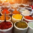 インドの色のスパイス — ストック写真
