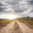 Road in Kazakhstan — Stock Photo