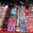 Souvenirs at Goa market — 图库照片