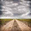 Road and dramatic sky — Stock Photo #25621221