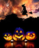 Halloween party — Stockfoto