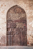 Ethnic old door — Stock Photo