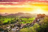 Hampi valley in India — Stock Photo