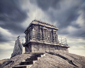 Ancient temple in India — Stock Photo