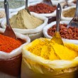 Indian colorful spices — Stock Photo