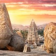 Virupaksha temple in Hampi — Stock Photo