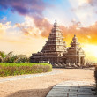 Shore temple in India — Stock Photo