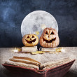 Halloween story — Stock Photo