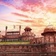 Red fort in India — Stock Photo #34724449