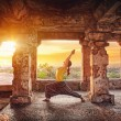 Stock Photo: Yogin Hampi temple