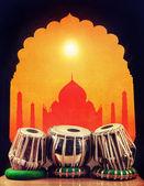 Música clássica indiana — Fotografia Stock