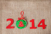 2014 new year — Foto de Stock