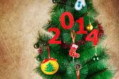 2014 new year — Stock Photo