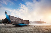 Fishing boat in India — Stock Photo