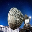 Mountain Observatory at night — Stock Photo