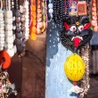 Indian souvenirs at market — Stockfoto