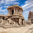 Stock Photo: Stone chariot in Hampi
