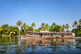 Aqua bus at backwaters — Stock Photo