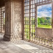 Marble hall in Red Fort — Stock Photo