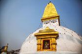 Buddhist stupa in Bodnath — ストック写真