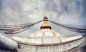 Bodhnath stupa — Stock Photo