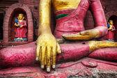 Buddha statue in Nepal — Stock Photo