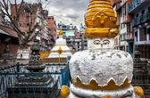 Buddhist stupa in Kathmandu — Stock Photo