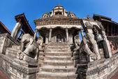 Durbar square in Bhaktapur  — Zdjęcie stockowe