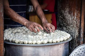 Nepalese momo  — Stock Photo