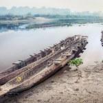 Canoeing safari in Chitwan — Stock Photo #48875731