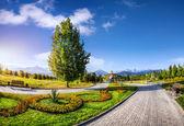 Park in Almaty — Stock Photo